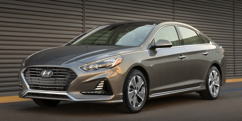 2018 Hyundai Sonata Hybrid, Plug-in Hybrid facelift revealed – 43 km EV driving, over 1,000 km range Image #777253
