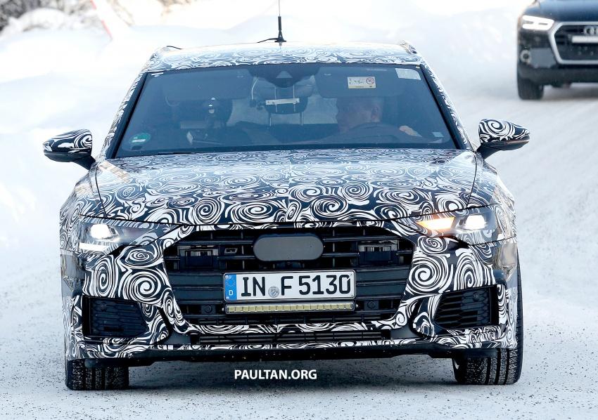 SPIED: 2019 Audi S6 Avant undergoing winter trials Image #775075