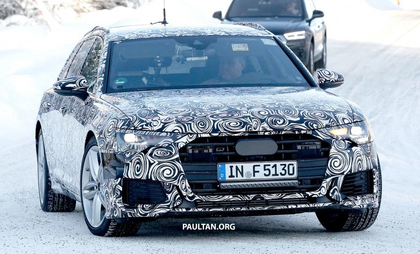 SPIED: 2019 Audi S6 Avant undergoing winter trials Image #775076