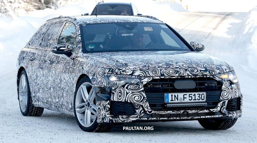 SPIED: 2019 Audi S6 Avant undergoing winter trials Image #775077