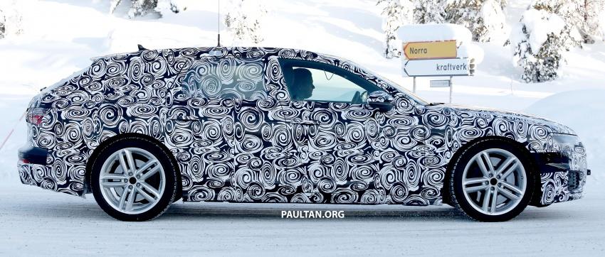 SPIED: 2019 Audi S6 Avant undergoing winter trials Image #775080
