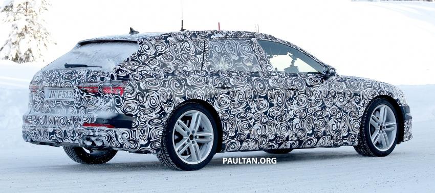 SPIED: 2019 Audi S6 Avant undergoing winter trials Image #775081