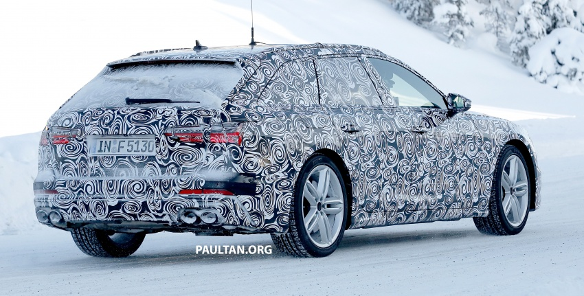 SPIED: 2019 Audi S6 Avant undergoing winter trials Image #775082