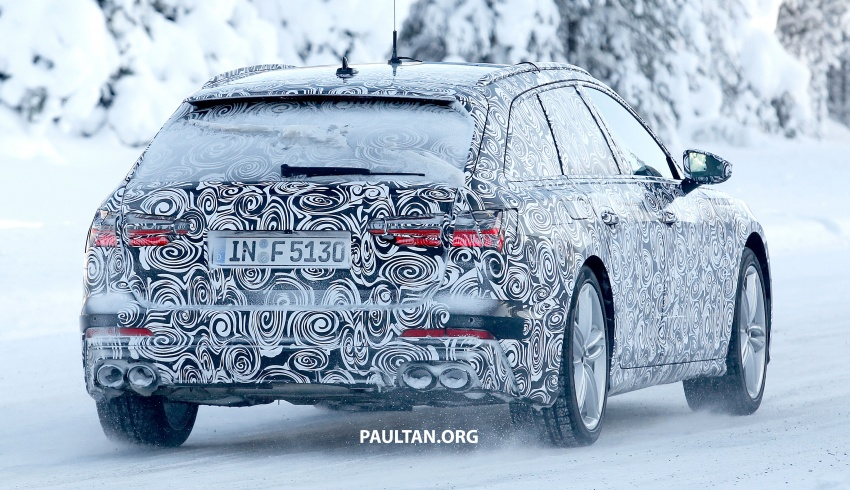 SPIED: 2019 Audi S6 Avant undergoing winter trials Image #775084
