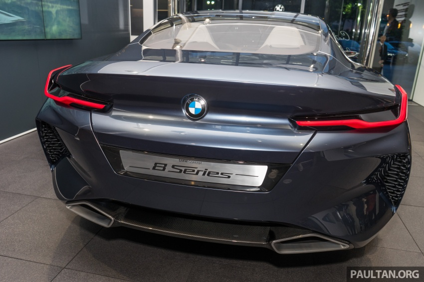 BMW Concept 8 Series now on display at BMW Luxury Excellence Pavilion in Kuala Lumpur until March 7 Image #782450