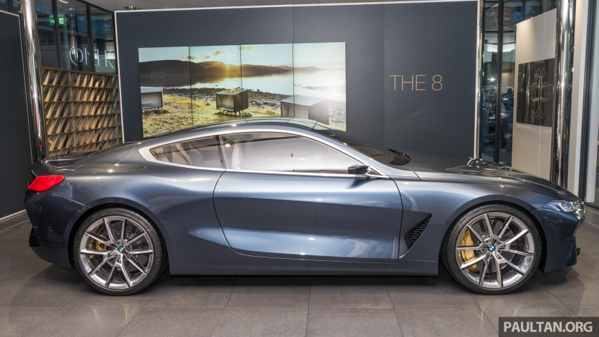BMW Concept 8 Series now on display at BMW Luxury Excellence Pavilion in Kuala Lumpur until March 7 Image #782451