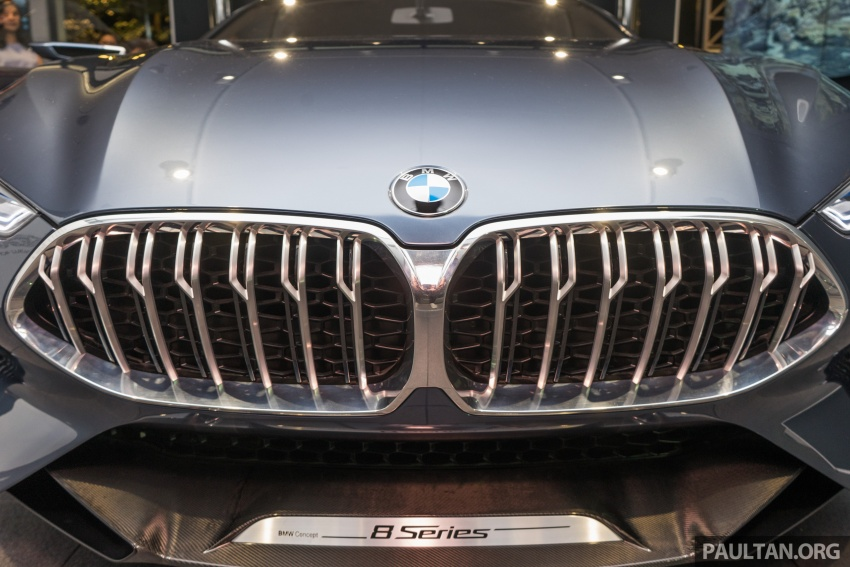 BMW Concept 8 Series now on display at BMW Luxury Excellence Pavilion in Kuala Lumpur until March 7 Image #782458