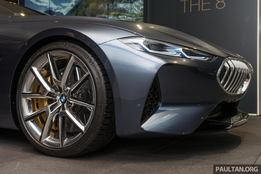 BMW Concept 8 Series now on display at BMW Luxury Excellence Pavilion in Kuala Lumpur until March 7 Image #782461