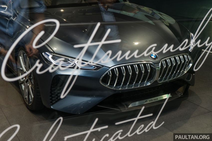 BMW Concept 8 Series now on display at BMW Luxury Excellence Pavilion in Kuala Lumpur until March 7 Image #782443