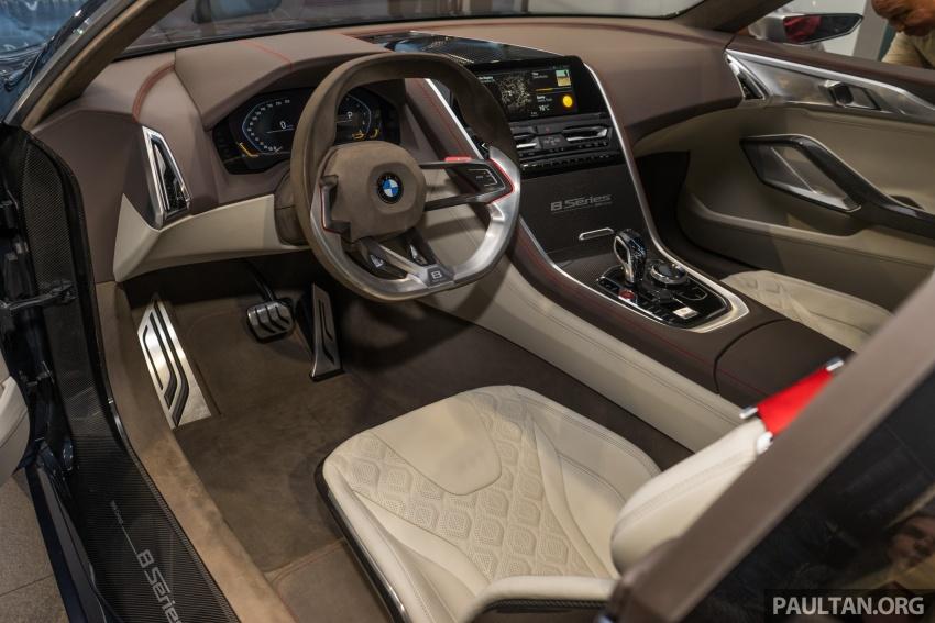 BMW 8 Series Concept buat penampilan di M'sia – dipamerkan di BMW Luxury Excellence Pavilion KL Image #782555