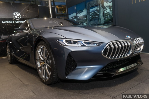 BMW Concept 8 Series now on display at BMW Luxury Excellence ...