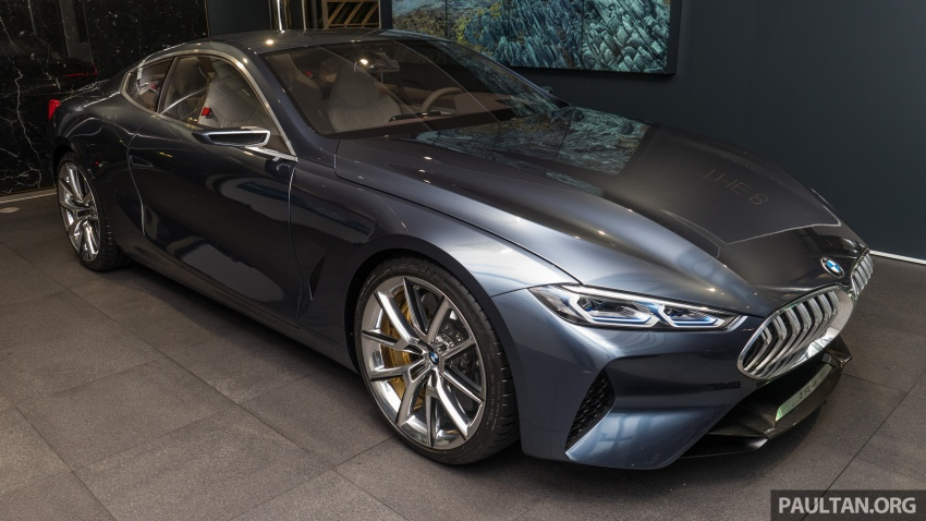 BMW Concept 8 Series now on display at BMW Luxury Excellence Pavilion in Kuala Lumpur until March 7 Image #782445