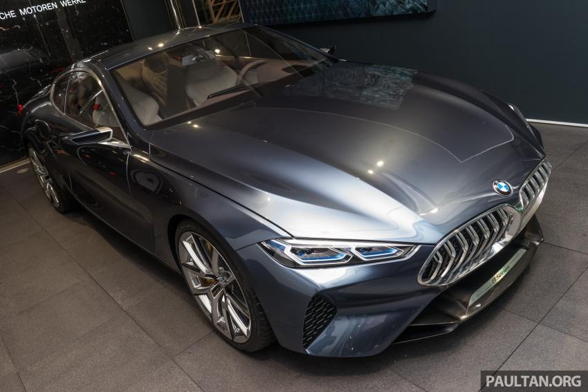 BMW 8 Series Concept buat penampilan di M'sia – dipamerkan di BMW Luxury Excellence Pavilion KL Image #782526