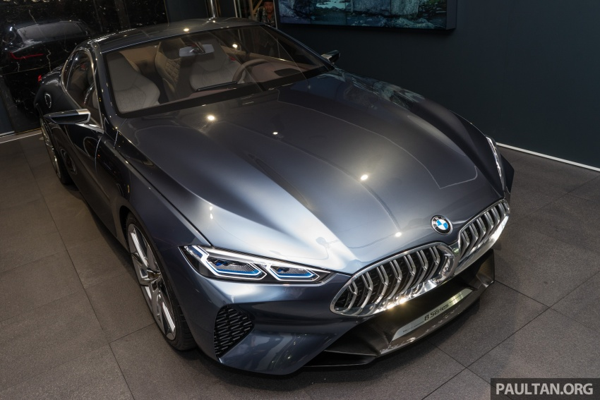 BMW Concept 8 Series now on display at BMW Luxury Excellence Pavilion in Kuala Lumpur until March 7 Image #782447