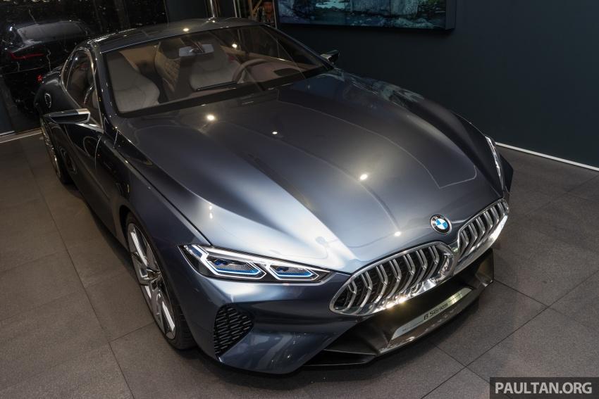 BMW 8 Series Concept buat penampilan di M'sia – dipamerkan di BMW Luxury Excellence Pavilion KL Image #782527