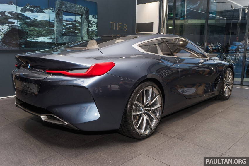 BMW Concept 8 Series now on display at BMW Luxury Excellence Pavilion in Kuala Lumpur until March 7 Image #782448