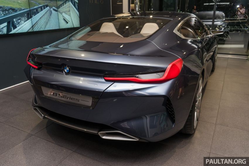 BMW Concept 8 Series now on display at BMW Luxury Excellence Pavilion in Kuala Lumpur until March 7 Image #782449