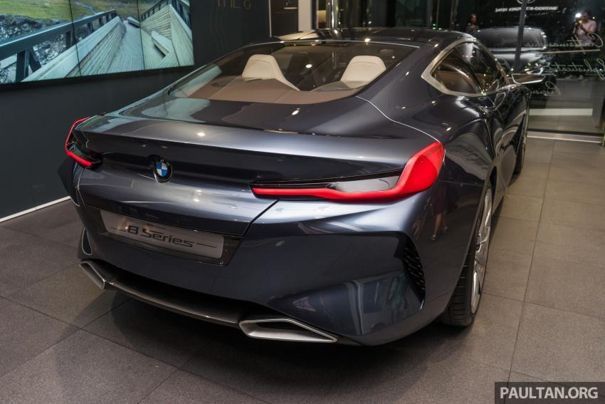 BMW 8 Series Concept buat penampilan di M'sia – dipamerkan di BMW Luxury Excellence Pavilion KL Image #782529