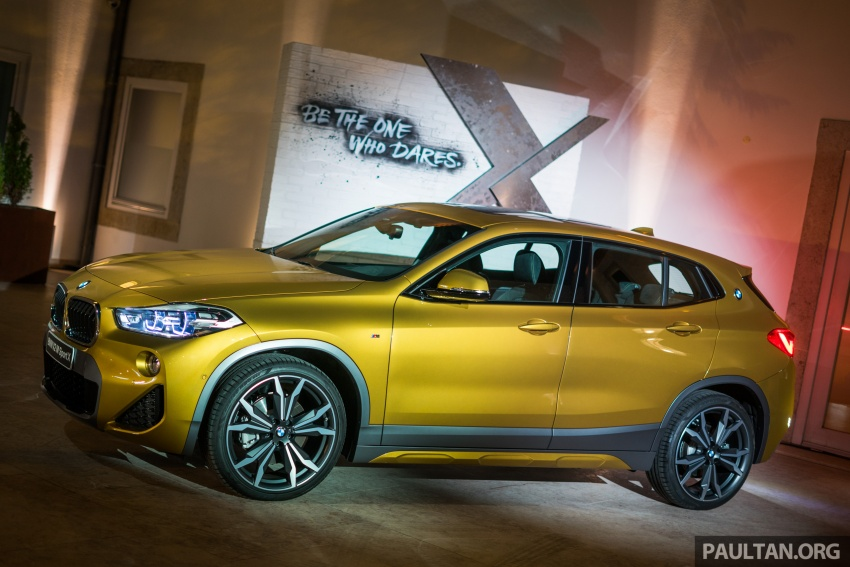DRIVEN: F39 BMW X2 – substance beneath the looks? Image #773830