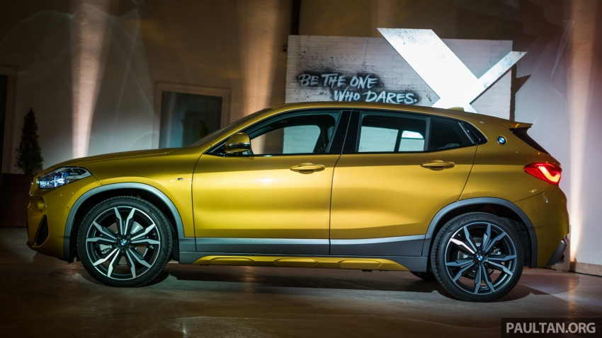 DRIVEN: F39 BMW X2 – substance beneath the looks? Image #773831