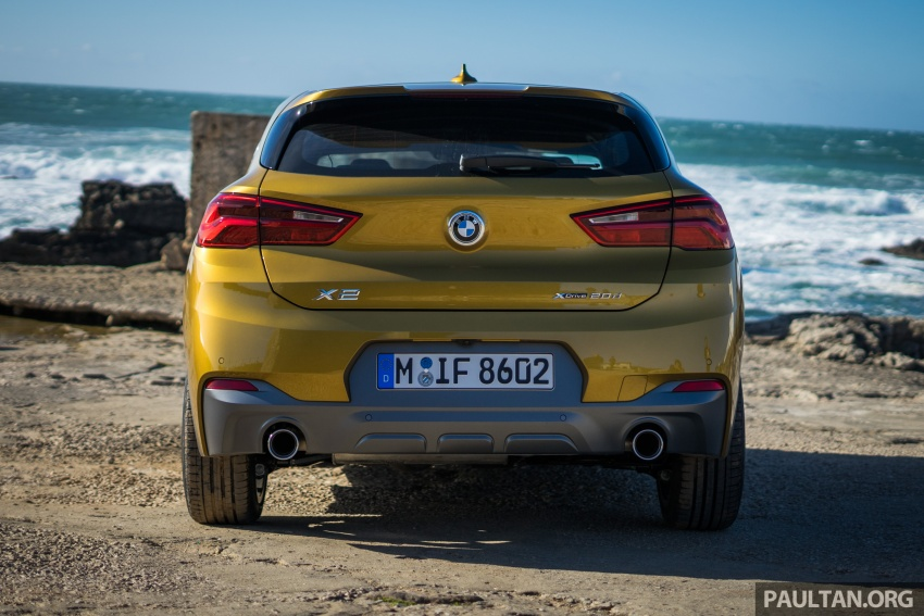 DRIVEN: F39 BMW X2 – substance beneath the looks? Image #773846