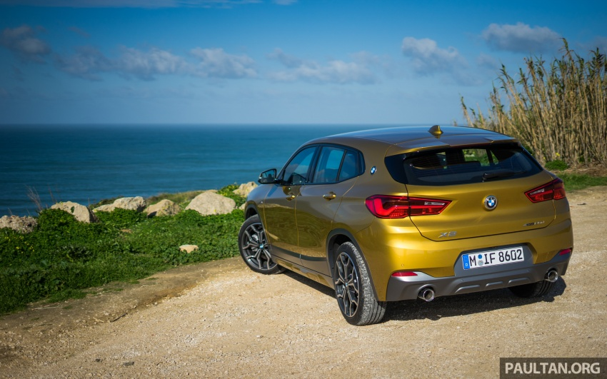 DRIVEN: F39 BMW X2 – substance beneath the looks? Image #773857
