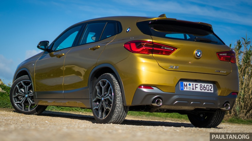 DRIVEN: F39 BMW X2 – substance beneath the looks? Image #773858