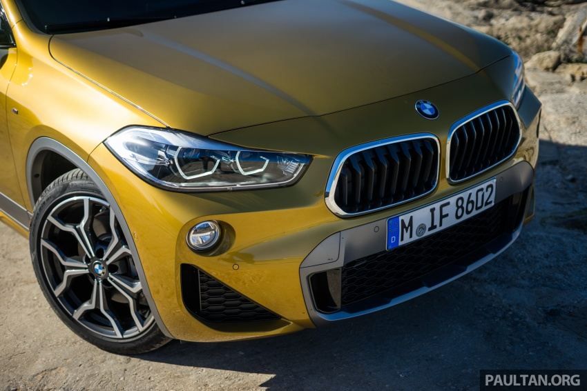 DRIVEN: F39 BMW X2 – substance beneath the looks? Image #773859