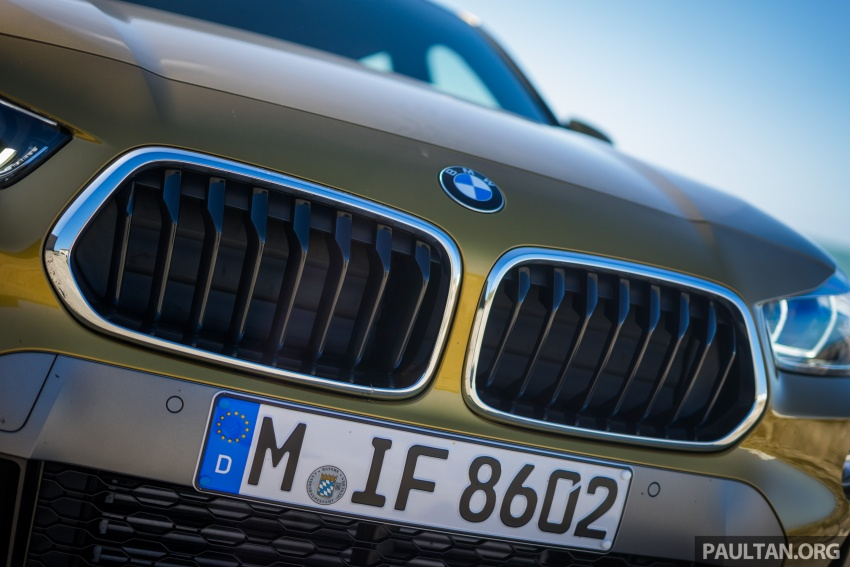 DRIVEN: F39 BMW X2 – substance beneath the looks? Image #773862