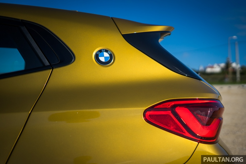 DRIVEN: F39 BMW X2 – substance beneath the looks? Image #773878