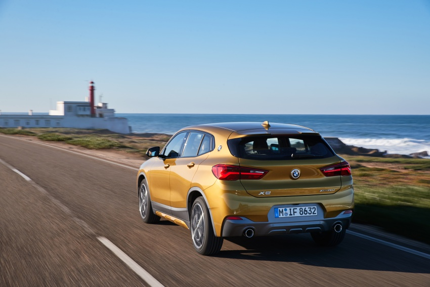 DRIVEN: F39 BMW X2 – substance beneath the looks? Image #775107