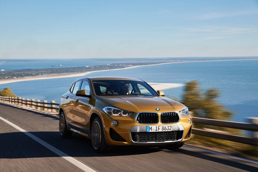 DRIVEN: F39 BMW X2 – substance beneath the looks? Image #775110