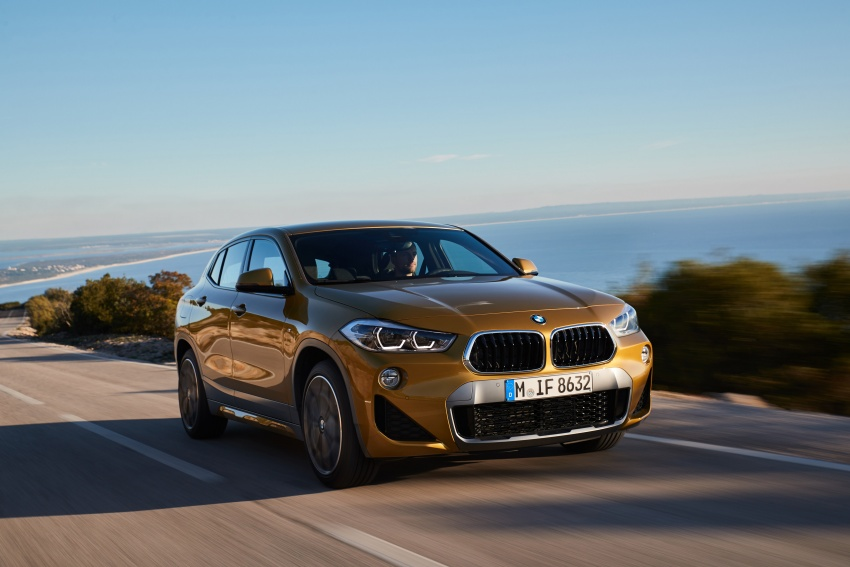 DRIVEN: F39 BMW X2 – substance beneath the looks? Image #775112