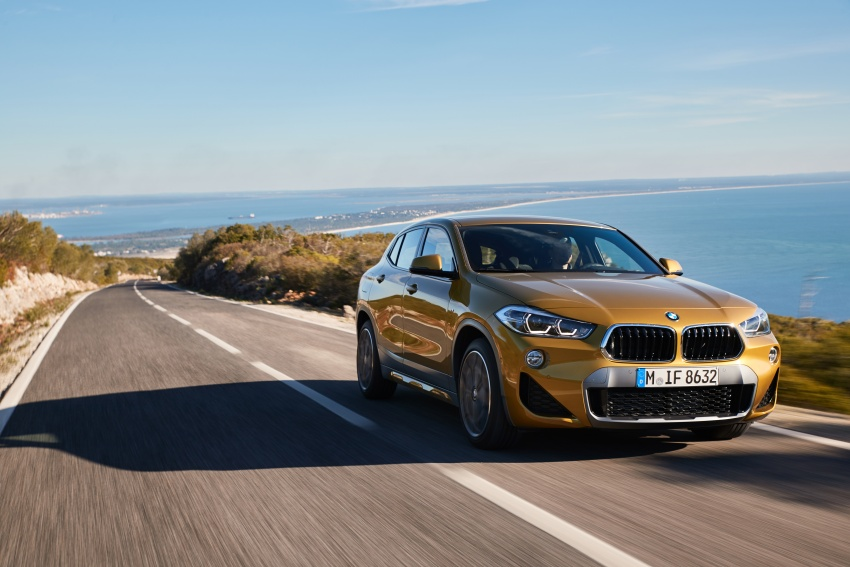 DRIVEN: F39 BMW X2 – substance beneath the looks? Image #775113