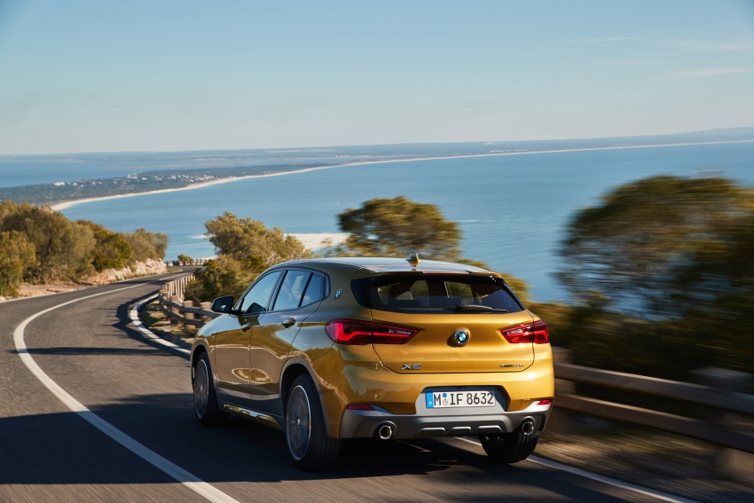 DRIVEN: F39 BMW X2 – substance beneath the looks? Image #775116