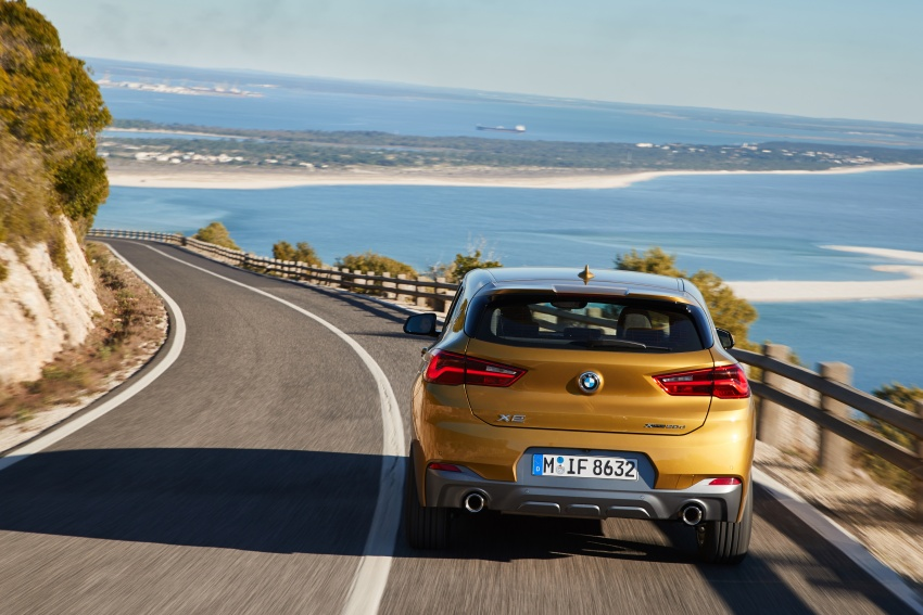 DRIVEN: F39 BMW X2 – substance beneath the looks? Image #775117
