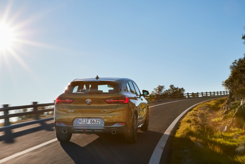 DRIVEN: F39 BMW X2 – substance beneath the looks? Image #775120