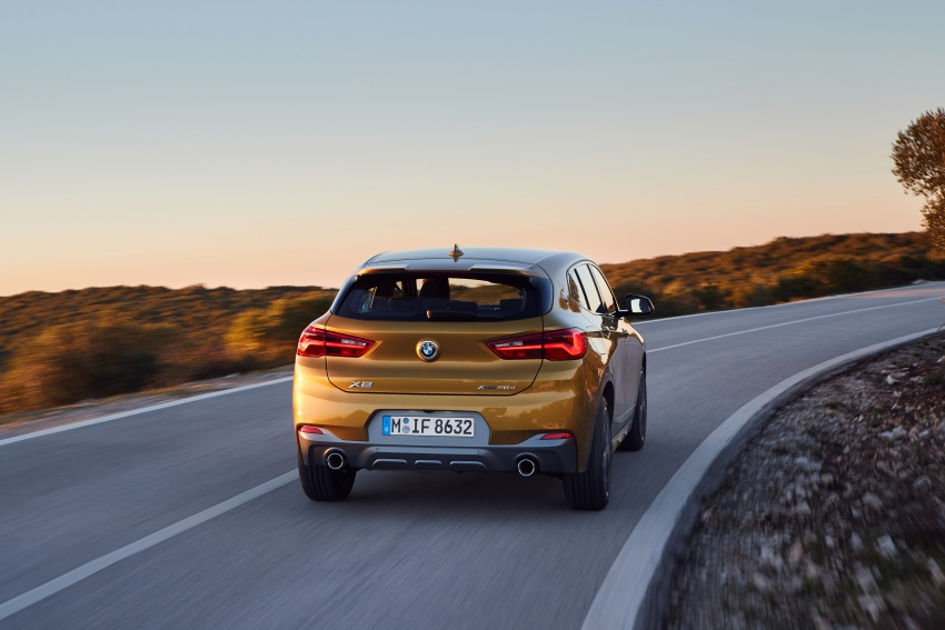 DRIVEN: F39 BMW X2 – substance beneath the looks? Image #775122