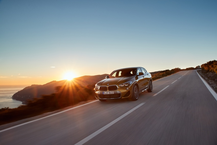 DRIVEN: F39 BMW X2 – substance beneath the looks? Image #775123
