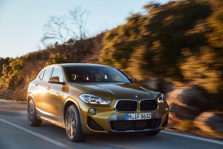 DRIVEN: F39 BMW X2 – substance beneath the looks? Image #775124