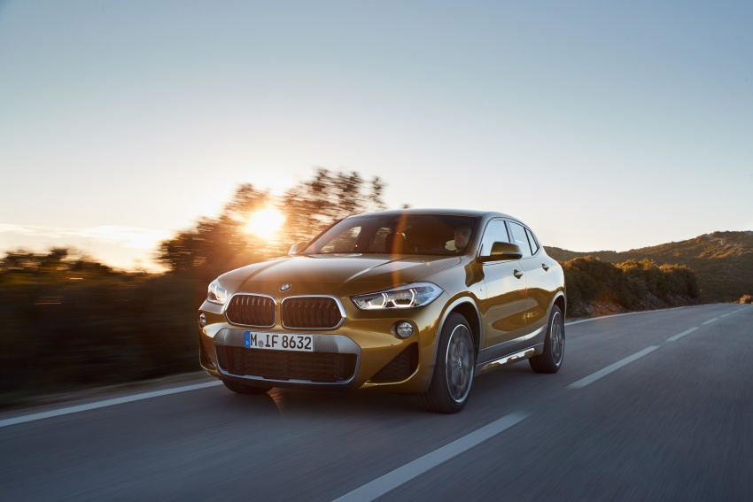 DRIVEN: F39 BMW X2 – substance beneath the looks? Image #775125