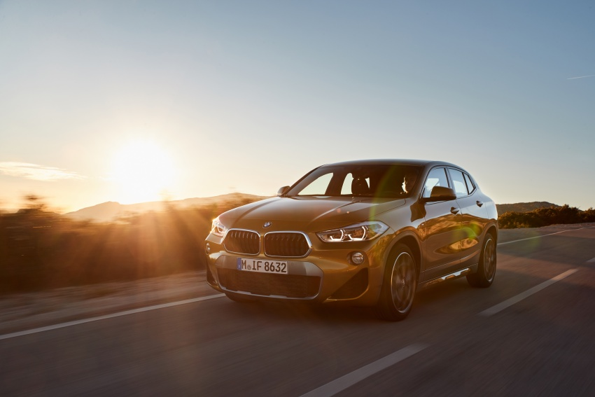 DRIVEN: F39 BMW X2 – substance beneath the looks? Image #775126