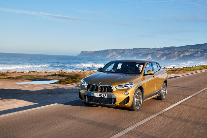 DRIVEN: F39 BMW X2 – substance beneath the looks? Image #775099