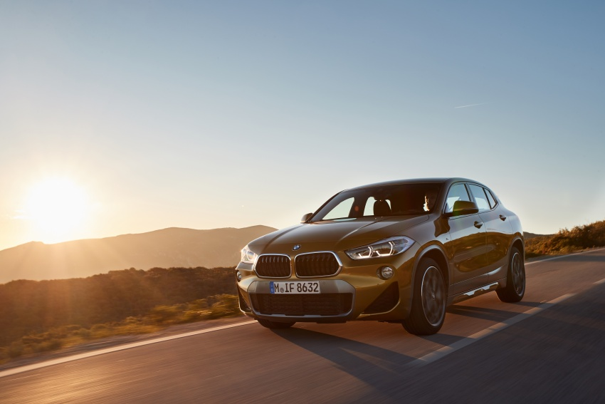 DRIVEN: F39 BMW X2 – substance beneath the looks? Image #775127