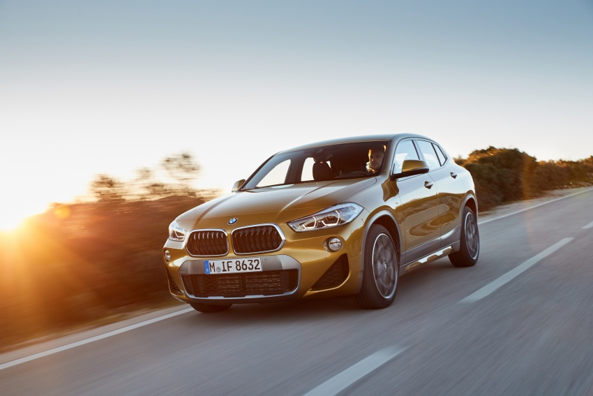 DRIVEN: F39 BMW X2 – substance beneath the looks? Image #775128