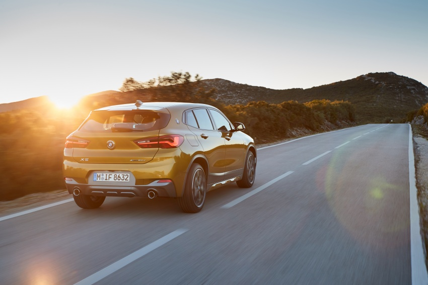 DRIVEN: F39 BMW X2 – substance beneath the looks? Image #775129