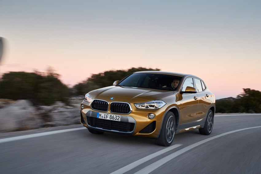 DRIVEN: F39 BMW X2 – substance beneath the looks? Image #775131
