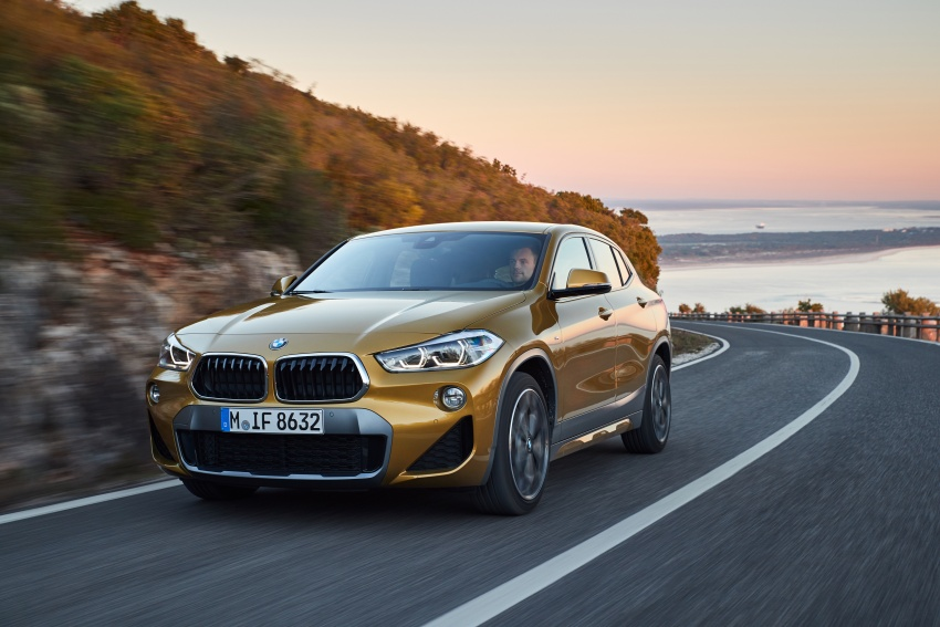 DRIVEN: F39 BMW X2 – substance beneath the looks? Image #775133