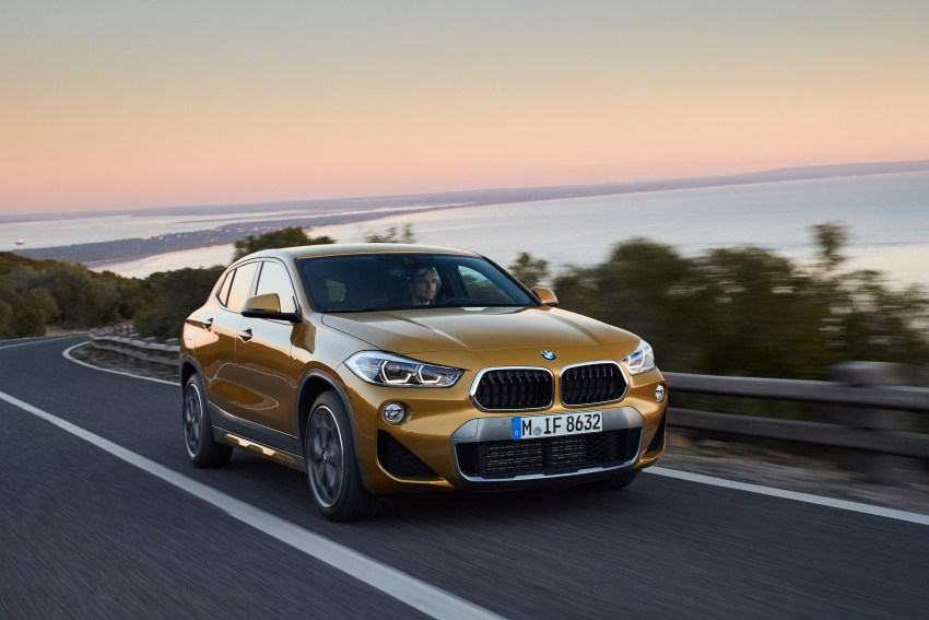 DRIVEN: F39 BMW X2 – substance beneath the looks? Image #775134