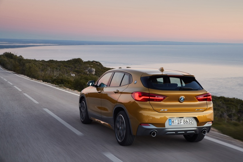 DRIVEN: F39 BMW X2 – substance beneath the looks? Image #775135